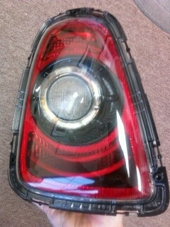 MINI Blackout Tail lights in kit