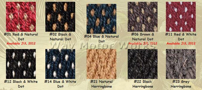 coco mats colors 1