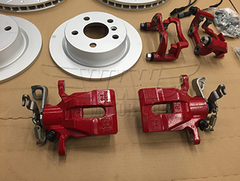 F54 F55 F56 F57 JCW rear calipers