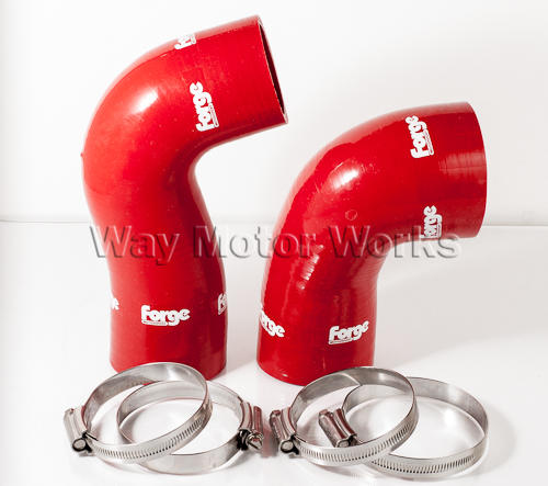 Forge Cold Side MINI Cooper S Turbo hoses Red