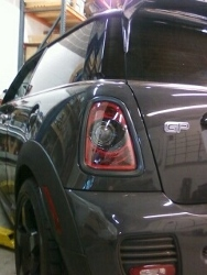 GP2 with Blackout Tail Light installed