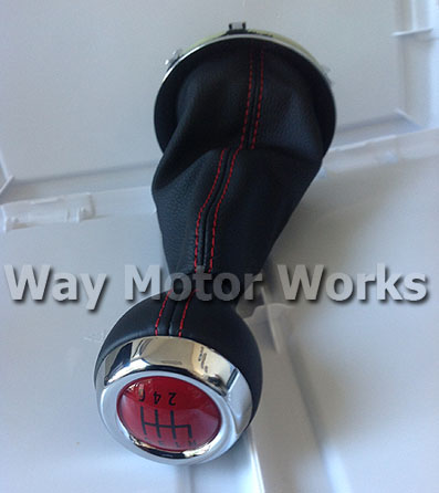 Red Stiching on GP 2 Shift knob