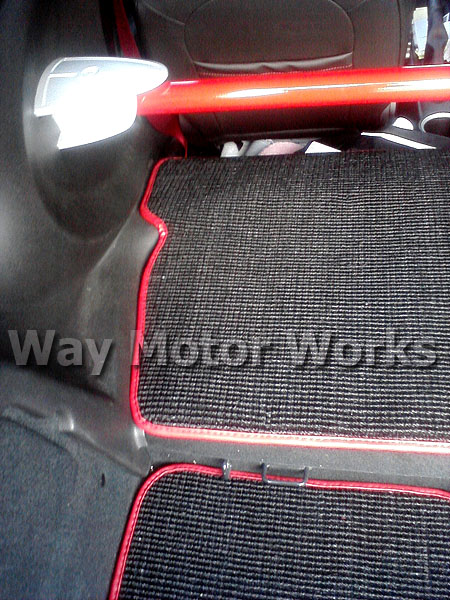 GP2 boot Mat Left Side