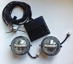 Actual MINI LED Halo Driving Light Kit