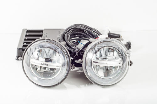 MINI Halo LED Driving Fog Lights