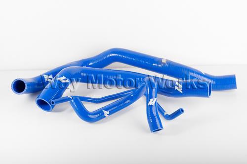 Blue Mishimoto R53 Cooper S Coolant hoses