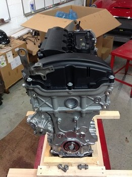 N14 MINI Cooper S engine with metal water pump