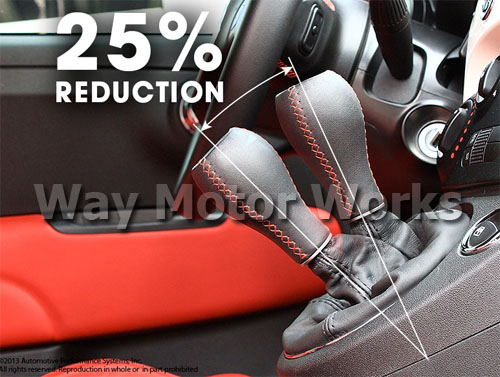 Neuf Shifter reduces throw by 25%