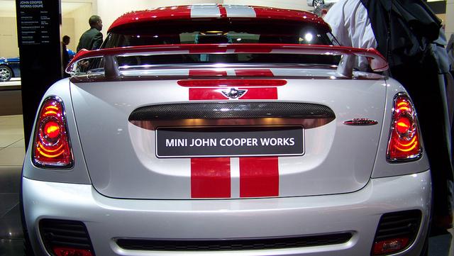 John Cooper Works Rear Spoiler R58 R59 - Way Motor Works