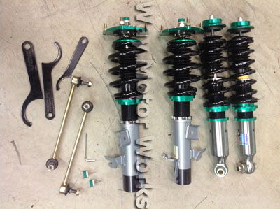 R60 Megan Racing Coilovers Complete set