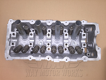 Top of rebuilt MINI cylinder head R50 R52 R53