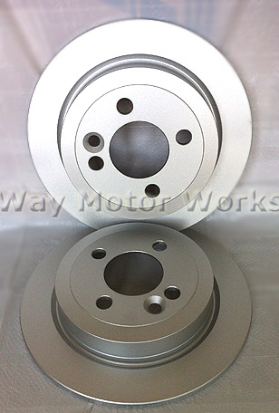 WMW rear rotors