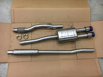 Complete Agency Power Titanium R56 MINI Cooper S exhaust system