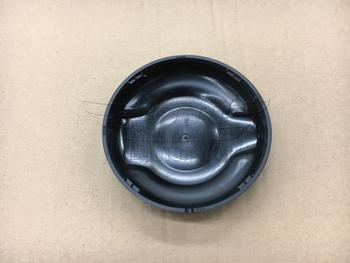 Back Side of F55 F56 MINI Black Gas Cap Replacement