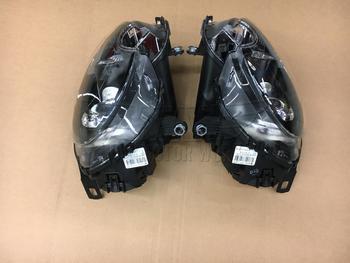 Back of Black R56 MINI Xenon Headlights