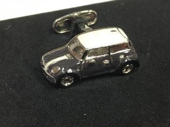 Black MINI Cooper Cufflink