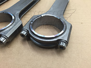 Large End of Carrillo MINI Cooper S Connecting Rods