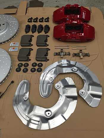 F54 F55 F56 F57 JCW brake kit backing plates and pads