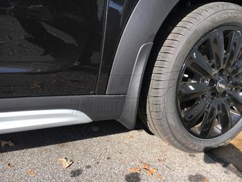 F60 MINI Countryman Mud Flaps Installed
