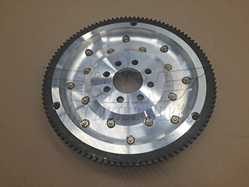Backside of R50 Fidanza Aluminum Flywheel