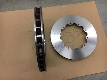 Front Vains on Cadillac CTSV brake rotors