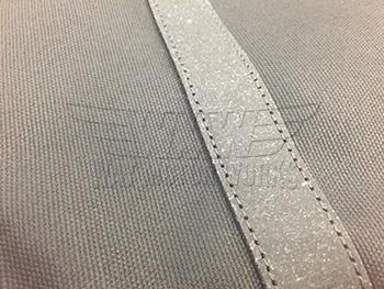 Leather straps part of MINI Laptop Bag