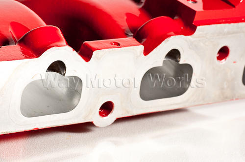 Intake manifold polished