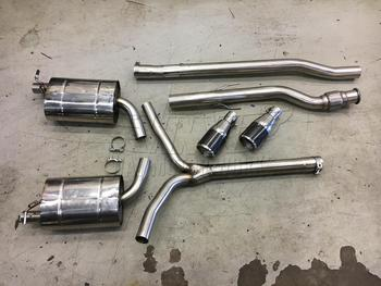 Quicksilver Exhaust System for R55 MINI Cooper Clubman S