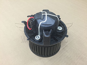 Backside with connector of Heater Blower Motor Fan Assembly R56 MINI Cooper