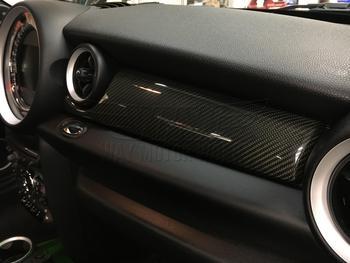 John Cooper Works Carbon Fiber Dash R55 R56 R57 R58 R59 Installed