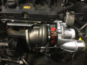 John Cooper Works Turbocharger Installed R55 R56 R57 R58 R59