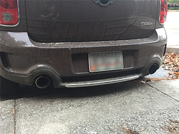 Magnaflow Exhaust installed on R60 MINI Countryman S
