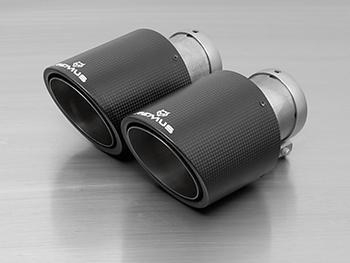 Remus Carbon Fiber MINI Exhaust Tips