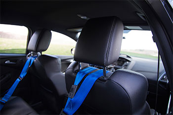 MINI Schroth Quickfit Harness headrest position R50 R52 R53