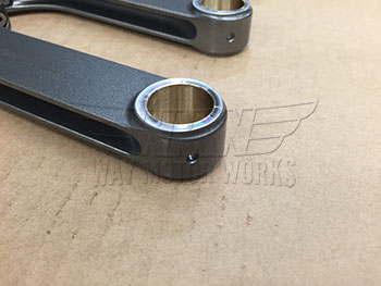 Small End of Carrillo MINI Cooper S R56 Connecting Rods