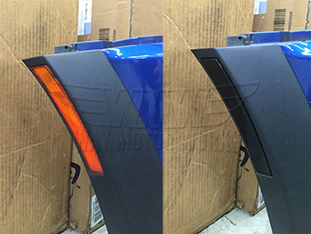 Smoked Arch lights before and after install