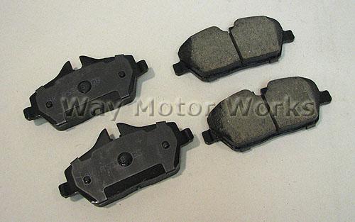 Akebono Brake Pads R55 R56 R57 R58 R59 Cooper NON S