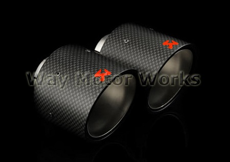 Akrapovic Exhaust Tips R56 R57 R58 R59