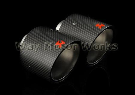 Akrapovic Exhaust Tips R56 R57 R58 R59