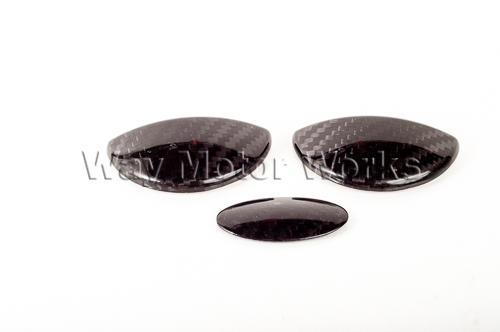 Carbon Fiber Interior Door Pulls, Glovebox R55 R56 R57 R58 R59
