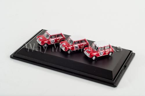 Classic Mini Diecast Model Set