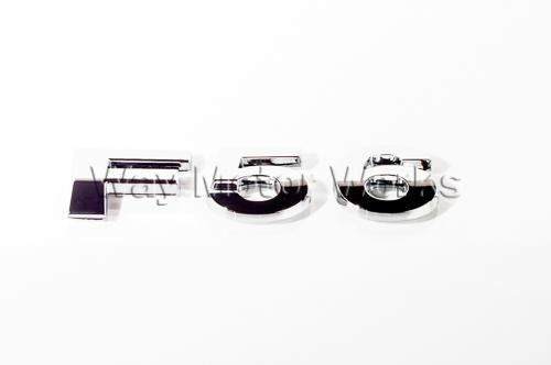 F56 Chrome Letter Badge