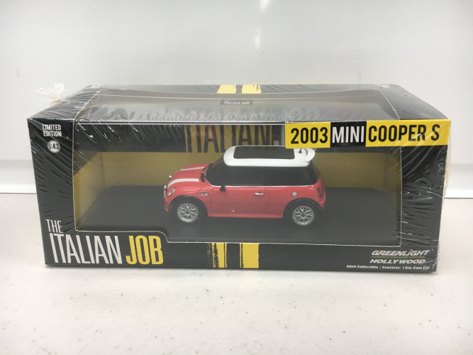 Italian Job Red Diecast MINI 1:43