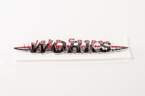 John Cooper Works Rear Badge