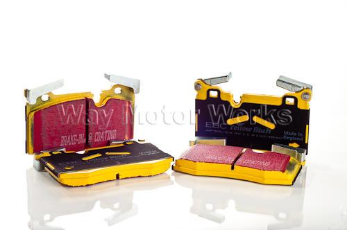 JCW Brembo EBC Yellowstuff Pads