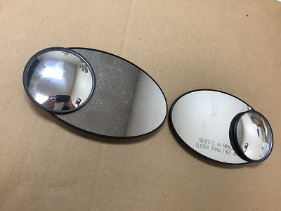 Used Mirror Set with blind spot mirrors R50 R52 R53
