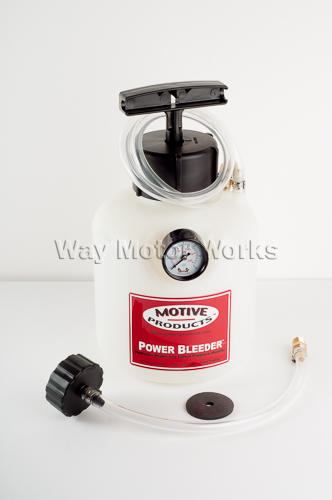 Brake Fluid Power Bleeder