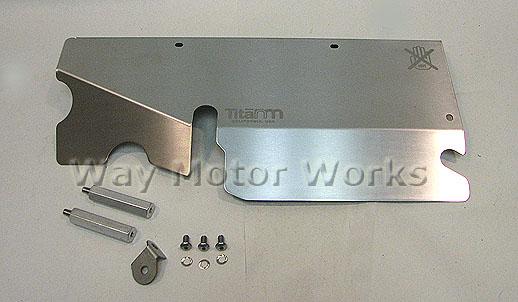 NM Titanium Turbo Heatshield