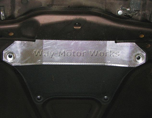 MINI Cooper S Hood Heatshield R55 R56 R57