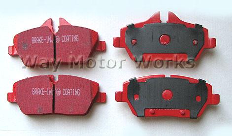 EBC Redstuff R55 R56 R57 R58 R59 Brake Pads Cooper NON S